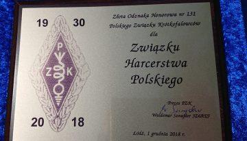 Złota Odznaka Honorowa dla ZHP